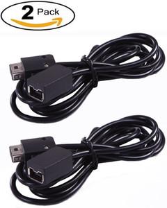 2 пакет расширения 10foot / 3Meter кабель для NES классический контроллер Edition и РЭШ мини-контроллер, черный
