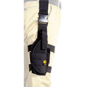 Cintura tattica verticale Gamba a goccia Gamba a coscia Gamba Pistola Fondina pistola Molle con caricatore Custodia adatta maggior parte delle armi