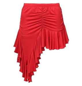 New Adult Fashion Ballroom Costume Modern training dress Irregular Sexy Latin dance bust skirt for women female lady dancer