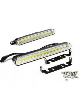 Impermeabile 12W PANNOCCHIA LED Auto auto guida luci DRL luce di marcia diurna luce automatica Fendinebbia per universale