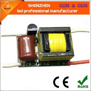 AC110V AC220V 3x1W de alta calidad PF0.9 triac regulable LED controlador de la lámpara Fuente de alimentación Transformadores de iluminación