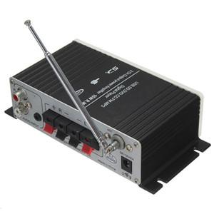 USB Mini Süper Bas Stereo Araba Amplifikatör ses Amplifikatör USB DVD CD FM MP3 USB Mini Süper Bas Stereo Uzaktan Kumanda ile