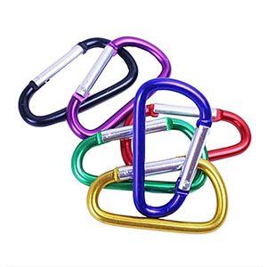Карабин прочный восхождение крюк алюминиевый брелок кемпинг аксессуары подходят открытый спорт высокое качество много размер, чтобы выбрать
