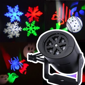 Lámparas para Proyectores Láser LED Etapa de Luz Corazón Nieve Araña Bowknot Bat Fiesta de Navidad Paisaje Luz Jardín Lámpara de Iluminación Al Aire Libre