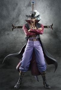 Bon cadeau One Piece Dracule Mihawk Figurines Action PVC Anime Jouets Anime Japonais Jouets pour Animation Fans