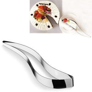 Bolo De Aço Inoxidável Slicer Bolo Corte Clipe Bolo Divisor De Lâmina de Cortador De Biscoito Fondant Sobremesa Ferramentas