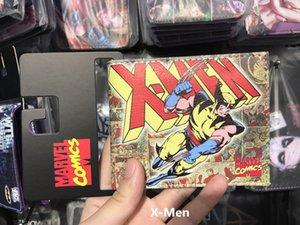 Nuovo 2017 Marvel SuperHeros Wolverin X-MEN Uomini Breve Bifold Wallet Studente Scuola carta di credito titolare della borsa regalo