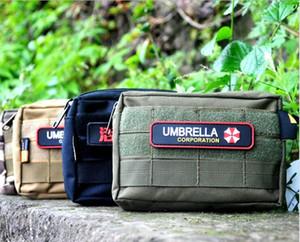 B-01 viajes deportes al aire libre Organizador de bolsillo EDC MIni MOLLE cartera cintura táctica táctico Packs teléfono bolsa bolsa de nylon Cordura