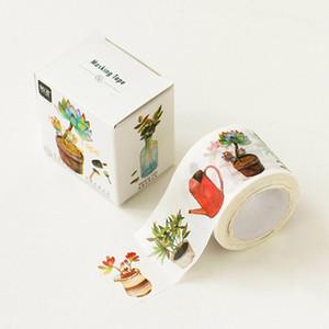 Wholesale-1 x 3cm breit Alice Garten Washi Tape DIY dekorative Scrapbooking Klebeband Dichtband Schreibwaren Schulmaterial