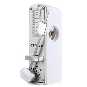 Free Shopping Mini Metronome Mechanical Metronome Best for Violin- White