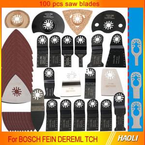 100 Stück oszillierende Multitool-Sägeblätter für Renovator-Elektrowerkzeuge wie Fein Multimaster, Dremel, Holzzerspanung, versandkostenfrei