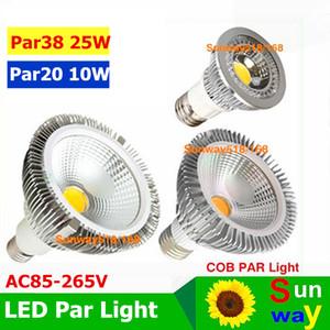 Par38 светодиодные лампы E27 E26 PAR20 PAR30 PAR38 светодиодные лампы 10 Вт 20 Вт 25 Вт Затемнения 85 ~ 265 В теплый чистый холодный белый светодиодные лампы