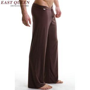 All'ingrosso-sonno bottoms nuovo arrivo 2016 mens sexy degli indumenti da notte degli uomini sonno pantaloni pigiami sexy maschile per gli uomini AA585