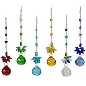 5 UNIDS Crystal Chandelier Parts Prismas Colgante Mariposa Rainbow Maker Chakra Cascade Suncatcher Boda Decoración Del Hogar 30mm