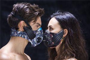 Свинец из спорта Маска беспроводной костной проводимости наушников обучение маска беспроводная гарнитура фитнес маска для спорта на открытом воздухе DHL бесплатно