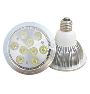Yüksek Güç AR111 LED Spotlight 10 W 14 W 18 W 24 W G53 Alüminyum Alaşım Led Ampuller AC85-265V Iş Aydınlatma için Halojen Değiştirin