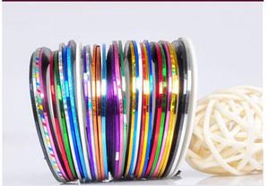 Accessories ,Nails Mix Rolls StripingTape Color Nail Nail Color Tools Stickers Care DIY Art Line Art Knvtd