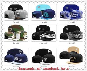 Snapbacks Topu Şapkalar Moda Sokak Şapkalar ayarlanabilir boyutu Cayler Sons özel futbol beyzbol kapaklar drop shipping en kalite