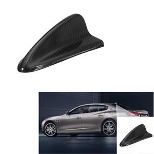 Fibra de carbono Aleta de tiburón Parte superior Base de la antena FM para BMW E90 E92 E46 E60 E39 Parte trasera 16.3 cm x 8.3 cm x 5.8 cm