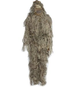 Caccia Woodland 3D Bionic Leaf Disguise Uniform CS Camouflage Suits Set Sniper Ghillie Suit Jungle Military Train Hunting Cloth