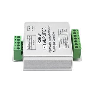 Umlight1688 LED RGBW / RGB Amplificateur DC12 - 24V 24A 4 canaux Sortie RGBW / RGB LED Contrôleur de puissance de répéteur de bande