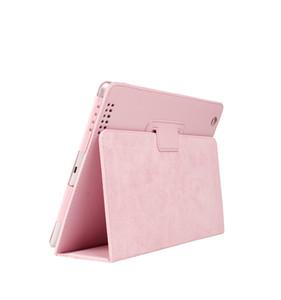 Pour Apple ipad 2 3 4 Case Auto Sommeil / Réveil Flip Litchi PU Housse En Cuir Pour Nouveau ipad 2 ipad 4 Smart Stand Holder Folio Case couverture