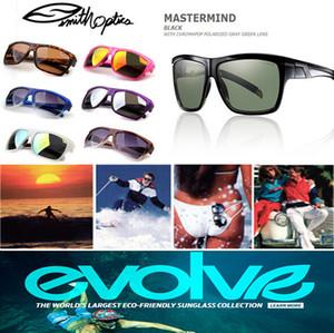 2016 Lunettes de soleil miroir colorées Sport lunettes de soleil Mastermind Designer Lunettes de soleil Dulex Full Frame Smith 24 couleurs Lunettes de soleil réfléchissantes