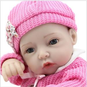 2019 Yeni Stil 28 CM Kız Bebek Bebek 11 Inç Tam Yumuşak Vinil Vücut Reborn Alive Bebekler Bebekler Çocuk Doğum Günü Noel Hediye