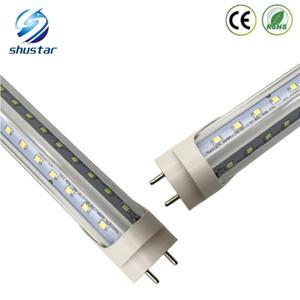 V Şeklinde 4ft T8 LED Tüp 4ft 5 ft 6 ft 8ft Işıklar Cooler Kapı Led Floresan tüpleri ışık Lamba Led g13 Çift Glow tüpleri aydınlatma