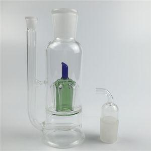 Yağ brülör bong 10mm kadın renkli mini yağ kuleleri sigara cam su boruları için fit cam yağ brülörleri kalın recycler cam bong