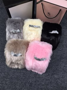 Yeni Moda 2016 Faux Fur Katı Renk Yumuşak Kadın Eşarp Şal Kadınlar Kış Scraf F053