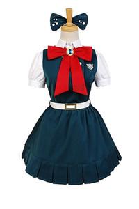 Malidaike Anime Super Danganronpa 2 Signore costume cosplay Sonia Nevermind