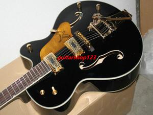 Nueva Llegada Black6120Hollow Jazz Guitar withBigbys Top instrumentos musicales envío gratis