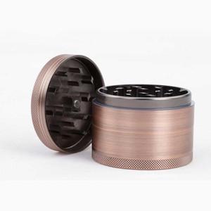 63 мм табака точильщика CNC 4 слой бронзы детектор дыма шлифовальные алюминиевого бокса цинковый сплав с ЧПУ зубные фильтр сухой травяной Дробилка