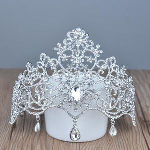 Bridal Crown Tiaderas Accessori Gioielli da sposa Crystal Prezzo economico stile moda Sposa Accessori per capelli Gioielli HT137