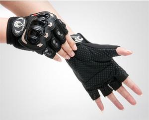 نصف اصبع فارس دراجة قفازات جل موتوكروس القفازات guantes ciclismo رياضة التدريب luva الدراجة الدراجات قفازات
