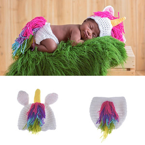 Ragazzi Coming Home Photo Doll Accessori Costume da cavallo Costume Baby Hat Baby Photography Puntelli Neonato Ragazzo e ragazza Crochet Outfit Infant BP071