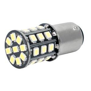 10 قطع السوبر مشرق 1157 p21 / 5 واط bay15d 33 led 2835 smd السيارات الذيل لمبة الضباب مصباح سيارة النهار تشغيل ضوء 12 فولت أبيض أحمر أصفر