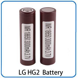 100% hochwertige 18650 Batterie HG2 3000mAh 30A wiederaufladbare Lithium-Batterien für LG Cells Fit Ecigs Vaporizer Vape Box mod 0269006