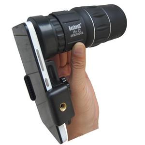 Téléphone portable caméra objectif zoom mobile monoculaire télescope vision nocturne pour Iphone Fisheye Mount adaptateur universel Dropshipping gros
