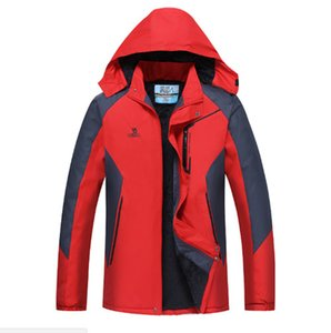 Long Sleeve Men jacket Coat Autumn Sports Outdoor Windrunner with Zipper Windcheater Men Outerwear Clothing 2XL-4XL