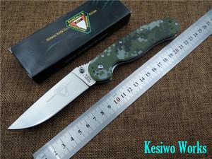 Складной нож Ontario RAT1 карманный EDC нож открытый выживания ножи AUS-8 лезвие OEM качество кемпинг нож