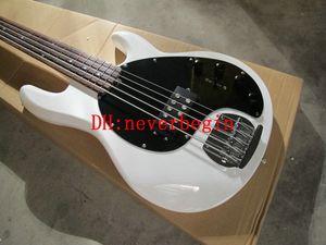 베이스 기타 최신 wihte 5 음악 남자 Electric Bass High Quality HOT