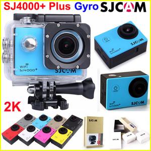 SJCAM SJ4000 + Plus WiFi Action Camera مع كاميرات الدوران لتحقيق الاستقرار الرياضي 2K 30FPS Record 1080P Full HD كاميرا مضادة للماء 170 Lens Car DVR