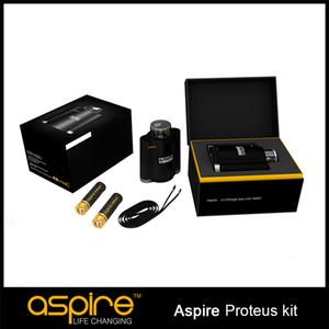 100% Aspire New Proteus E-hookah E Cigarette Kits 18ml Tanque 0.16ohm Proteus Bobina agradável Aspire New Kit Proteus