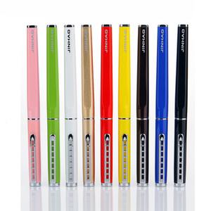 Jinhao 699 Colorido 0.38mm Extra Fino Nib Fountain Pen com Prata Escada Clipe Frete Grátis Canetas De Tinta