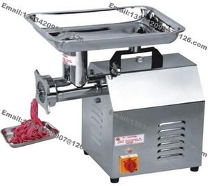 Бесплатная доставка 120 кг / ч сверхмощный 110 в-240В электрический ресторан мясной магазин кухня колбаса говядина мясорубка мясорубка производитель мясорубка машина