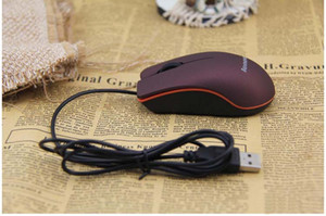 USB оптическая мышь мини 3D проводной игровой мыши с розничной коробке для ноутбука ноутбук игры Lenovo M20 Fedex DHL