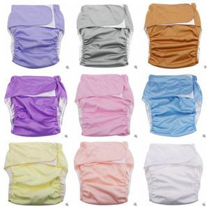 Couches Lavables Couches lavables Adultes Couvre-couches réutilisables Couvre-Serviettes Étanches Serviette Couches Culottes Shorts Culottes B2813