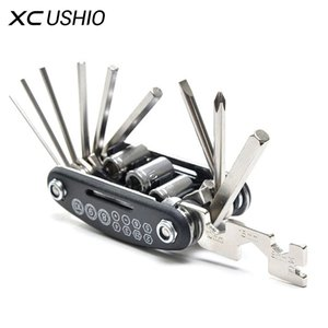 15 in 1 Multi Bicycle Repair Tools Set Hex Key  Socket Wrench  Screwdriver  Mountain Bike Bicycle Screwdriver Repair Tool Kit